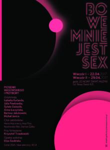 bo we mnie jest sex got -plakat22 kwietnia